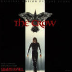 Cover della colonna sonora del film Il corvo - The Crow