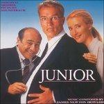 Cover CD Colonna sonora Junior