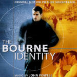 Cover CD Colonna sonora The Bourne Identity