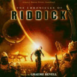 Cover CD Colonna sonora The Chronicles of Riddick