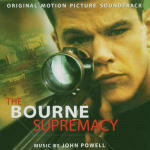 Cover CD Colonna sonora The Bourne Supremacy