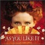 Cover CD Colonna sonora As You Like It (Come vi piace)