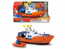 Dickie Action Series Barca Harbour Rescue cm 33, luci e suoni, try me