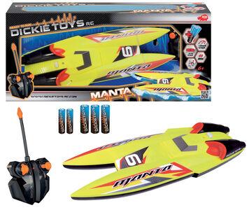 Giocattolo RC Motoscafo Manta Simba Toys