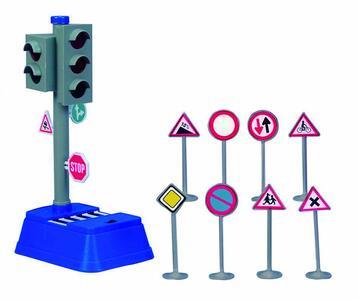 Dickie Toys. Segnali Stradali Con Semaforo - 3