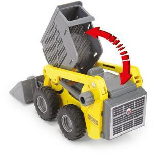 Dickie Toys. Kids Mate. Wacker Neuson. Scavatrice E Trivella Con Generatore Elettrico + Personaggio - 6