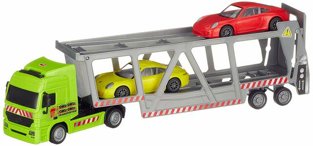 Dickie Toys. Bisarca Cm.38 Con 2 Porsche Scala 1:43 Incluse - 6
