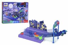 Dickie Toys. Pj Masks. Playset Night Action Con Gattomobile