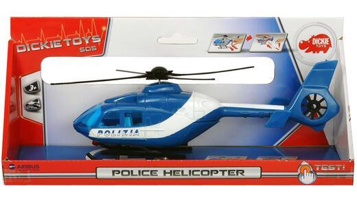 Dickie Toys. Elicottero Polizia con Eliche Rotanti