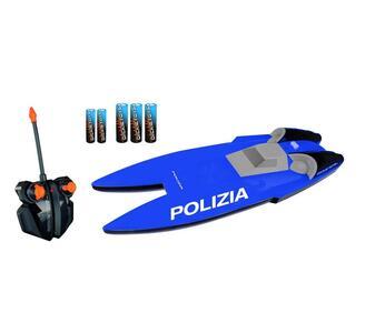 Dickie Toys. Motoscafo Manta Polizia con Radiocomando a 2 Canali - 3