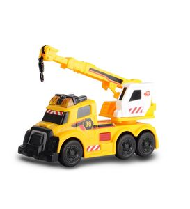 Giocattolo Dickie Toys. Action Series. Camion con Braccio Gru con Luci 15 Cm Dickie Toys 1