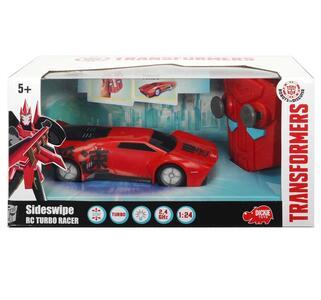 Transformers. Turbo Racer Sideswipe 1:24 con Funzione Turbo, Cerchioni e Chassis con Luci e Radiocomando - 2
