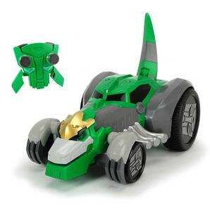 Transformers. Optimus Prime Battle Truck Lancia Dischi con Luci e Suoni 23 Cm