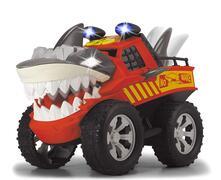 Dickie Racing Shaking Shark cm.30, motorizzato, luci e suoni, musica, morde e si agita come uno squalo