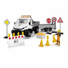 Playlife Traffic Set Iveco Daily 4X4