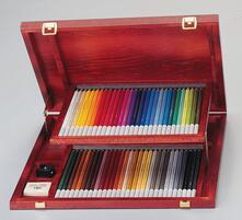 Pastelli STABILO CarbOthello. Scatola in legno con 60 matite colorate