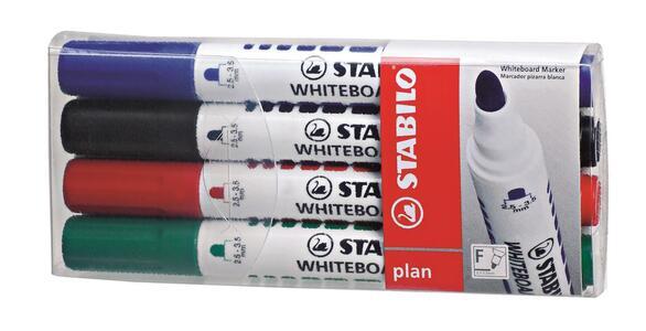 Pennarello Marker STABILO Plan per lavagna bianca