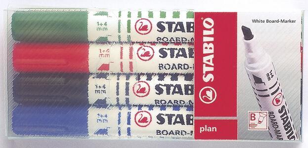 Cartoleria Pennarello Marker STABILO Plan per lavagna bianca Stabilo