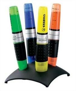 Evidenziatore Stabilo LUMINATOR. set da scrivania con 4 colori assortiti