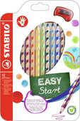 Cartoleria Pastelli Stabilo EASYcolors per destrorsi. Confezione 12 matite colorate Stabilo