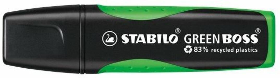 Cartoleria Evidenziatore STABILO GREEN BOSS Verde Stabilo