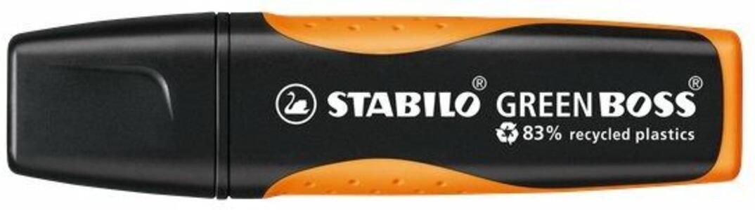 Cartoleria Evidenziatore STABILO GREEB BOSS Arancione Stabilo