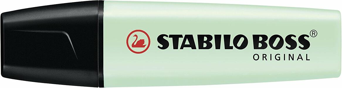 Evidenziatore STABILO BOSS Pastel. Verde - 10