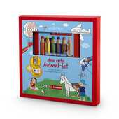 Cartoleria Cofanetto STABILO Art Therapy per bambini con astuccio da 6 matitoni colorati Woody 3in1 Stabilo
