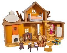 Masha Playset, la Grande Casa di Orso, inclusi Masha e Orso ed accessori