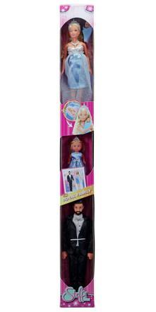 Steffi Love Royal Family (Steffi, Kevin, Evi). tubo display 12 pz DOLCE ATTESA