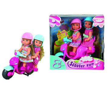 Giocattolo Evi Love. 2 Amiche su Scooter Simba Toys