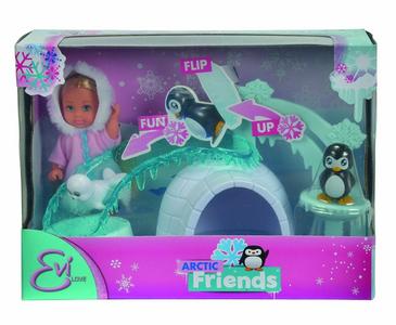 Giocattolo Evi Love. Evi con Igloo e Amici Polari Simba Toys 0