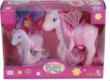 Sweet Pony Set Unicorni Fairy Con Mamma E Mini Pony,Pettine E Spazzola Assortimento