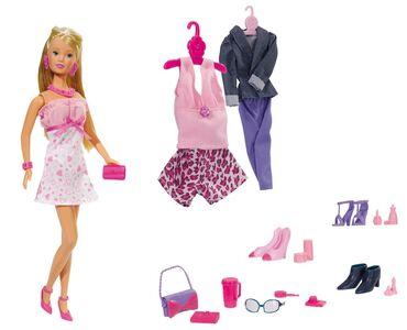 Giocattolo Steffi Love. Mega Fashion Abiti Ed Accessori 45 Pz Simba Toys