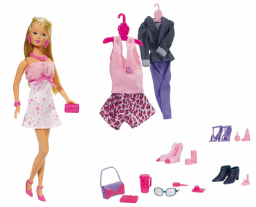 Giocattolo Steffi Love. Mega Fashion Abiti Ed Accessori 45 Pz Simba Toys 0