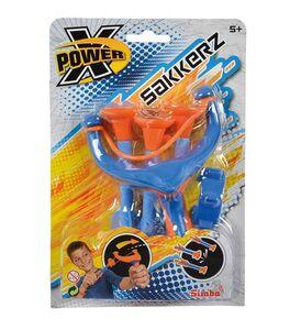 Giocattolo X-Power. Set Fionda 17 cm con 3 Dardi a Ventosa 15 cm Simba Toys 0