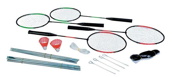 Giocattolo Be Active. Ba Set Badminton per 4 Giocatori Simba Toys