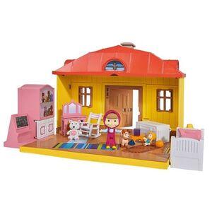 Giocattolo Masha e Orso. Playset Casa Masha Richiudibile con Personaggio Masha e Accessori Simba Toys 1
