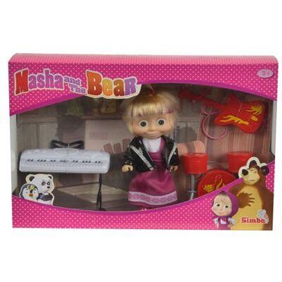 Masha e orso bambola masha rock con 3 strumenti musicali for Masha giocattolo