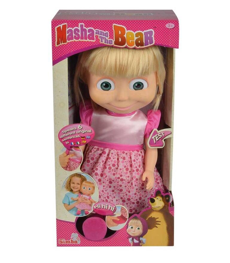 Masha e orso bambola masha parlante 40 cm simba toys for Masha giocattolo