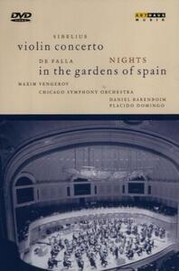 Jean Sibelius. Violin Concerto - Manuel De Falla. Nights In the Gardens of Spain - DVD