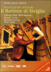 Rossini Gioacchino. Il barbiere di Siviglia di Michael Hampe - DVD