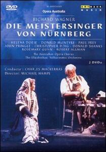 Richard Wagner. I Maestri Cantori di Norimberga (2 DVD) di Michael Hampe - DVD