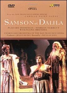 Charles Camille Saint-Säens. Sansone e Dalila di Nicolas Joel,Kirk Browning - DVD