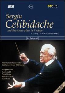 Sergiu Celibidache And Bruckner's Mass In F Minor di Jan Schmidt-Garre - DVD