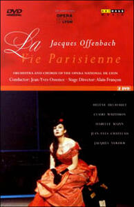 Jacques Offenbach. La Vie Parisienne (2 DVD) di Alain Françon - DVD