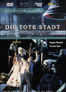 Erich Wolfgang Korngold. Die Tote Stadt di Inga Levant - DVD