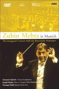 Zubin Mehta. Zubin Mehta in Munich - DVD