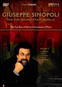 Giuseppe Sinopoli. Giuseppe Sinopoli and the Dresden Staatskapelle - DVD