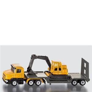 Die Cast camion + rimorchio + escavatore (1611)